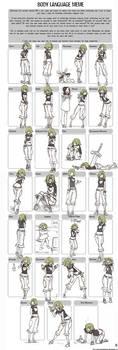 Body Language Meme - Envy.
