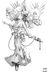 Deadly Marionette, Pencils. by Endling
