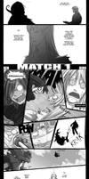 OC Battle 1 - Red vs. Hiroshi. by Endling
