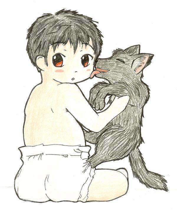 Raz and his familiar by Nazuna-Sakaki