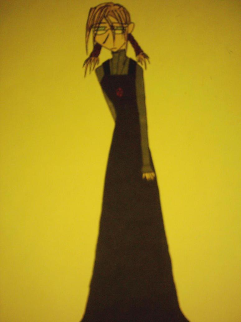 Asuri in convent cloths. by Nazuna-Sakaki