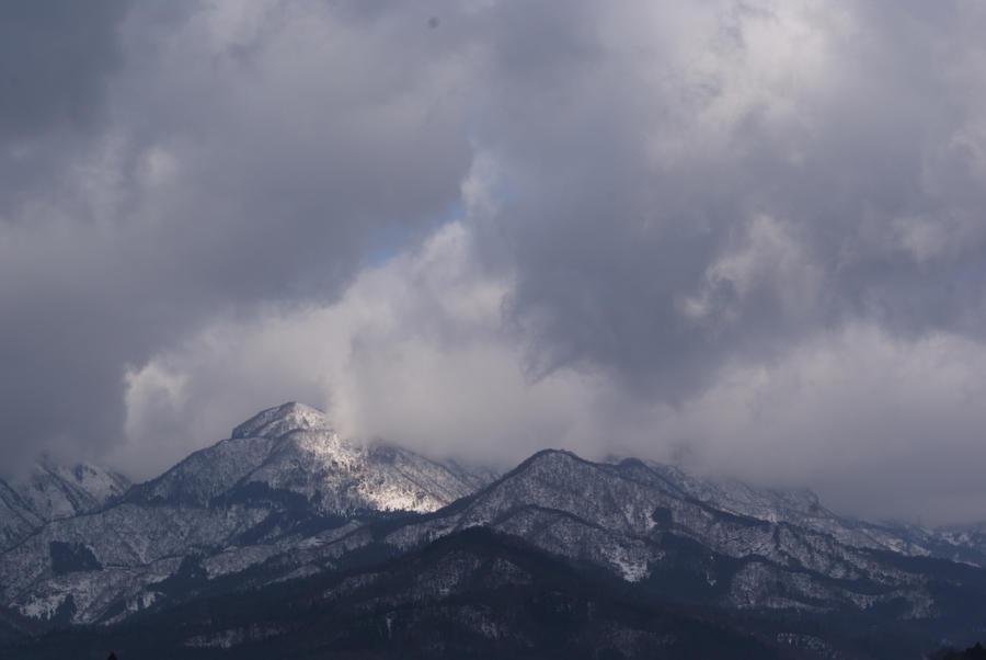 Japan mountain by yearoftheboar