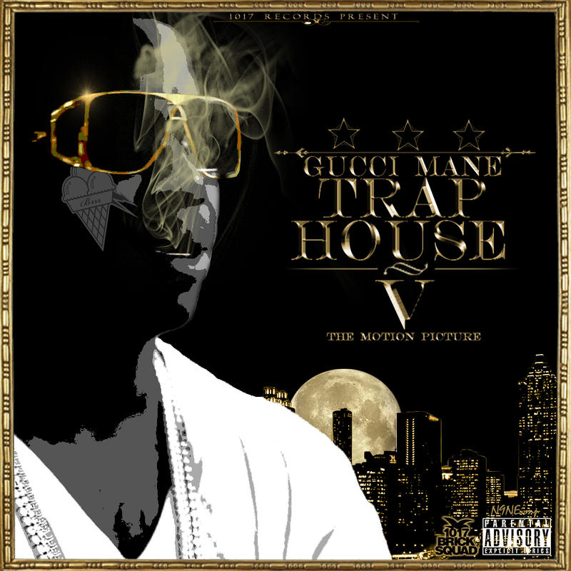 gucci mane trap house 5 black cover by ninedrizzy on deviantart