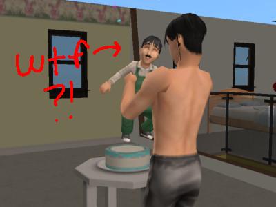 Sims 2 - Luigi baby? by Animash