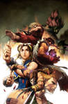Street Fighter no.3 COVER