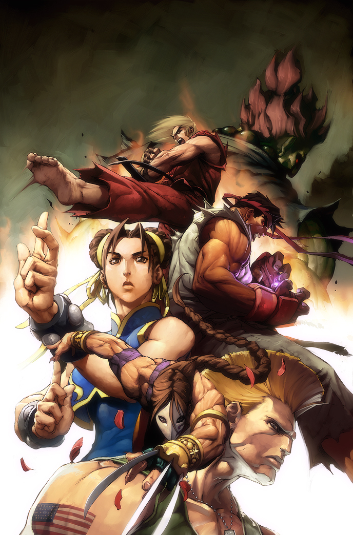Street Fighter No 3 Cover By Alvinlee On Deviantart