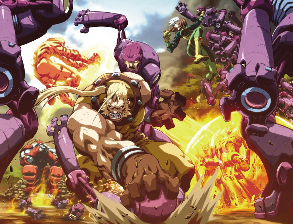 AGE OF APOCALYPSE - Splash by alvinlee