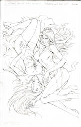 EMMA FROST AND THE PHOENIX