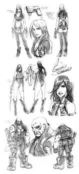 SUPERGIRL Concepts - SAM MARQ
