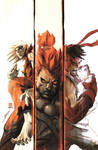 Street Fighter 1 - 6 COVER