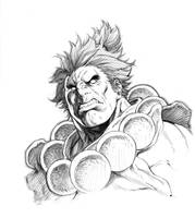 AKUMA - Sketch For Japan by alvinlee