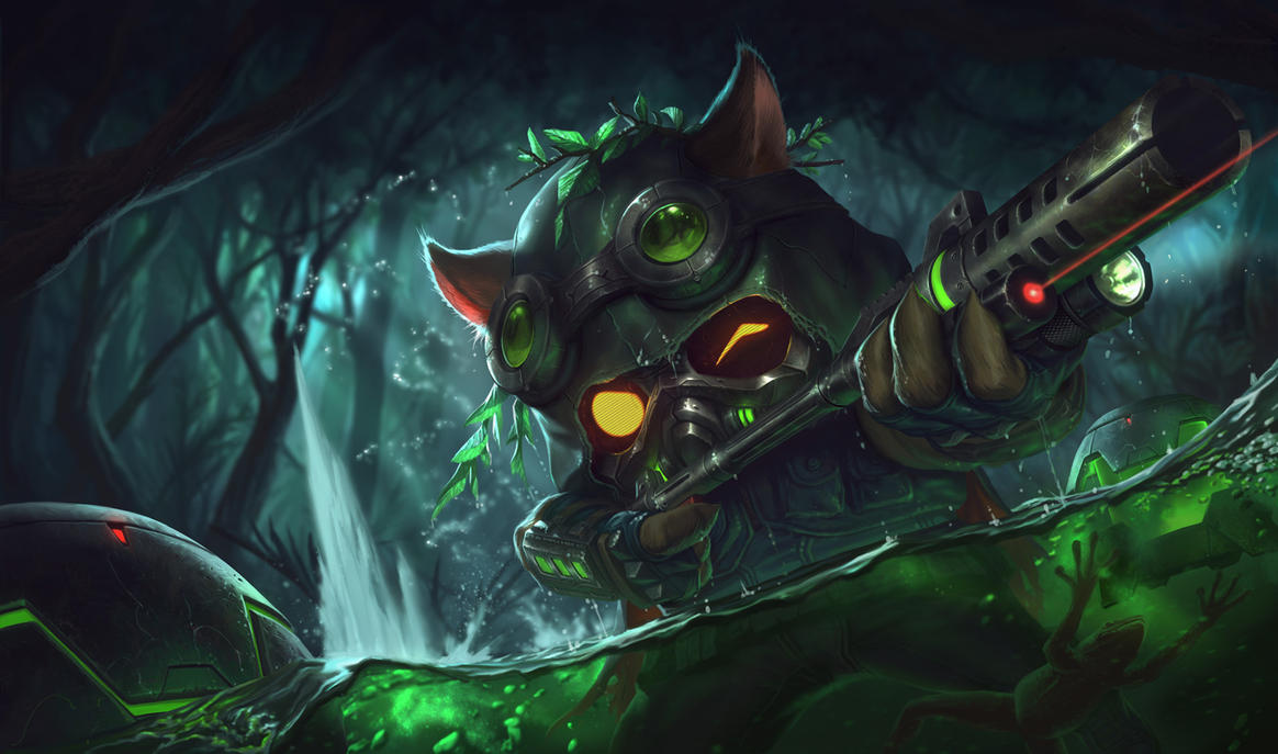 OMEGA SQUAD TEEMO by alvinlee