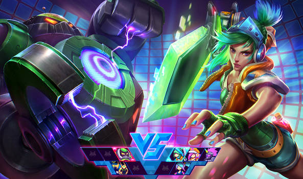 Arcade Riven Vs. Final Boss BlitzCrank