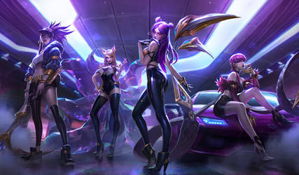 K/DA  POP/STARS - SPLASH by alvinlee