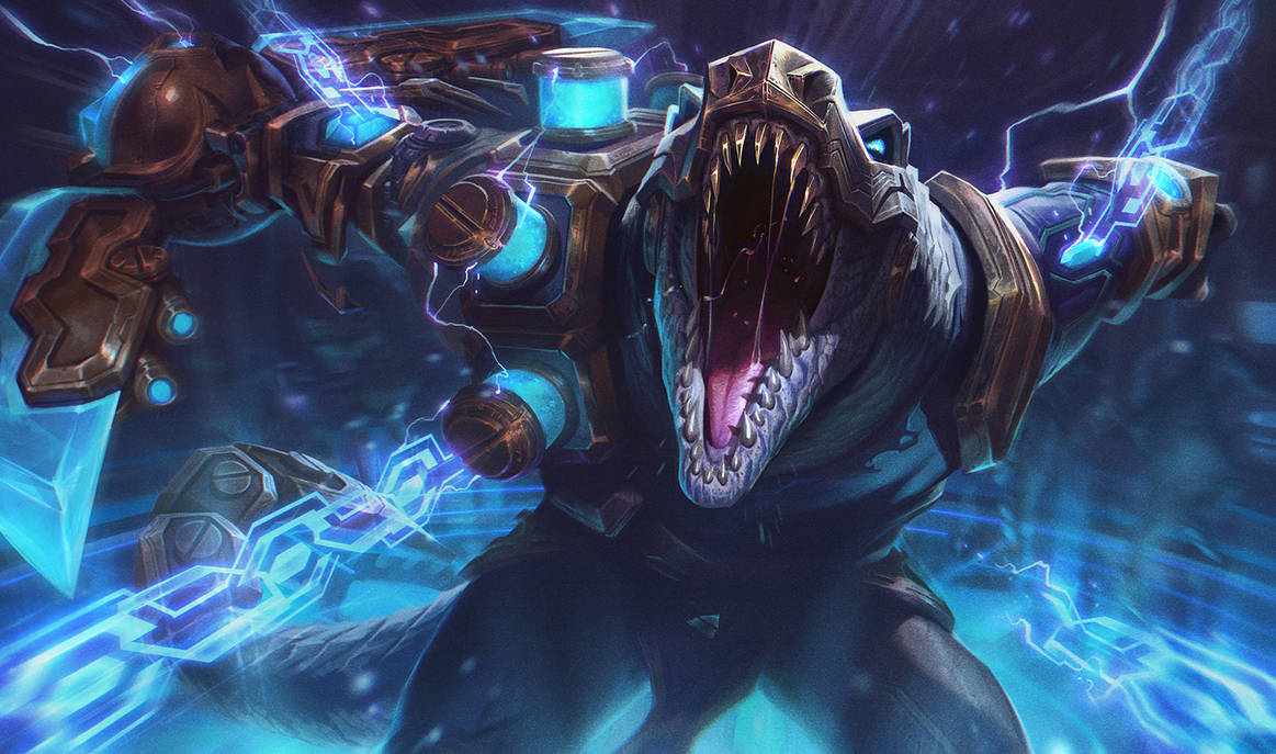 HEXTECH RENEKTON - SPLASH by alvinlee