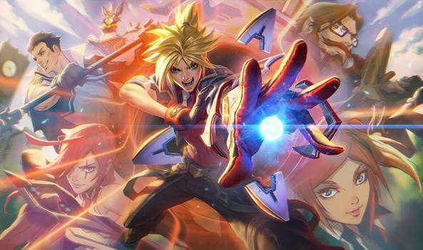 BATTLE ACADEMY EZREAL
