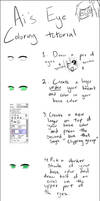 Eye coloring Tutorial