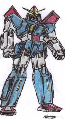 Mekton - Practice Sketch