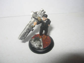 Steampunk Minis - Nicholas D Wolfwood by TFVanguard
