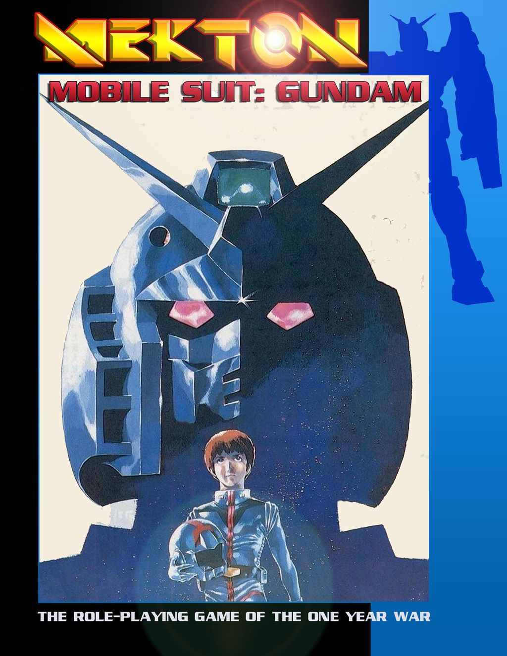 Mekton - Gundam Cover