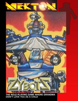 Mekton - Xybots Cover