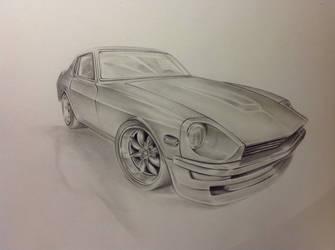 Datsun 240z by G-REDNEK