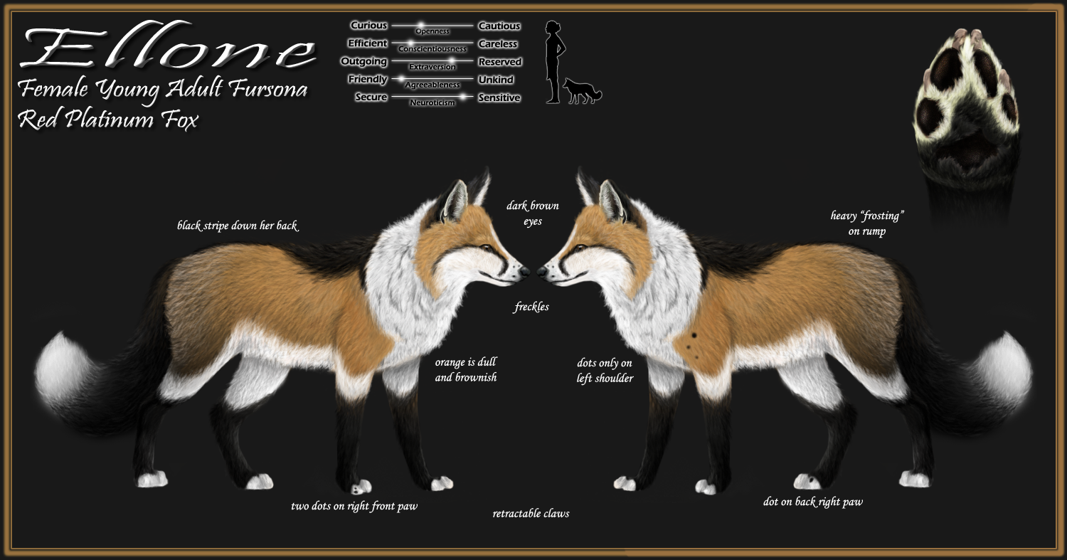 Ellone's Reference Sheet by NoelleMBrooks
