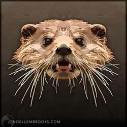 African Clawless Otter by NoelleMBrooks