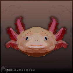 Axolotl by NoelleMBrooks