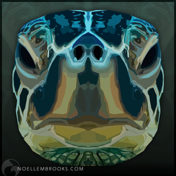 Green Turtle by NoelleMBrooks