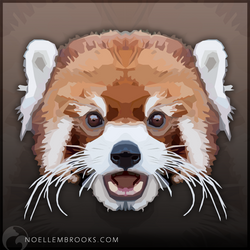 Red Panda by NoelleMBrooks