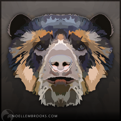 Spectacled Bear by NoelleMBrooks