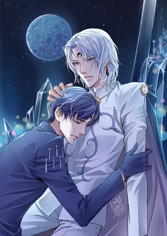 Sapphire and Prince Diamond by LorinellYu