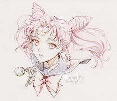 Chibiusa - Sailor Chibi Moon by LorinellYu