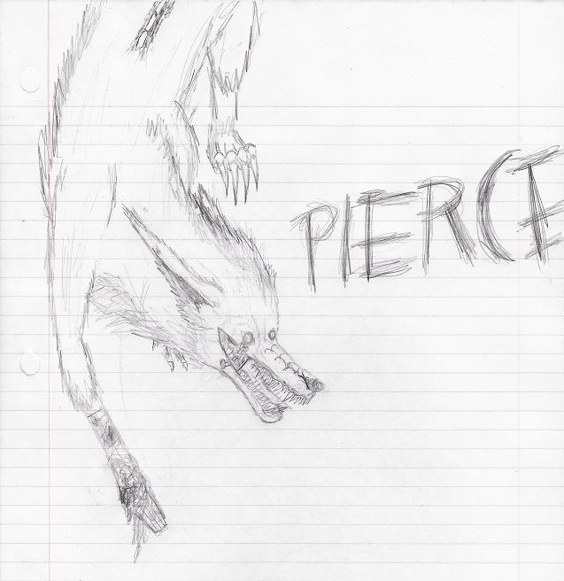 Pierce Sketch by drakewoof