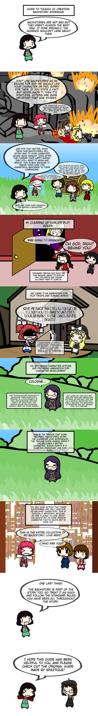 Guide to Touhou OC Creation: Backstory ADDENDUM by Kigurou-Enkou