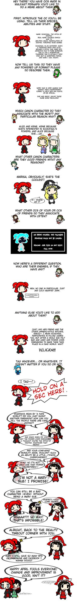 Create.swf OC Meme SUPER REDUX~! (April Fools) by Kigurou-Enkou