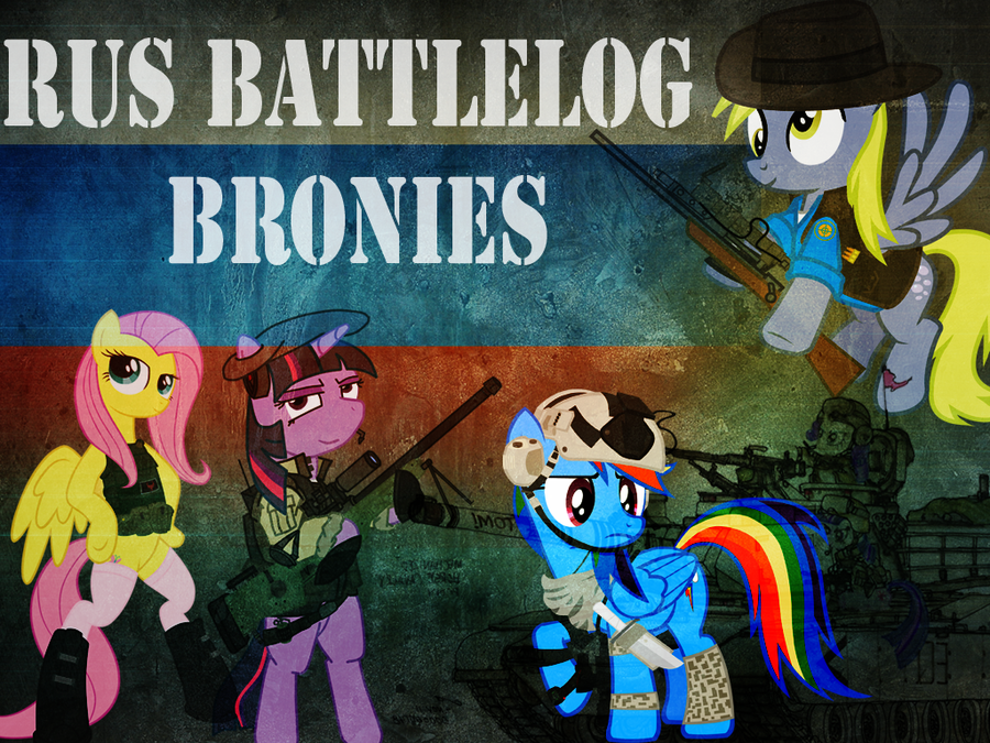 Russian Battlelog Bronies by ShySolid