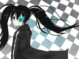 Black Rock Shooter by nuxi-chan