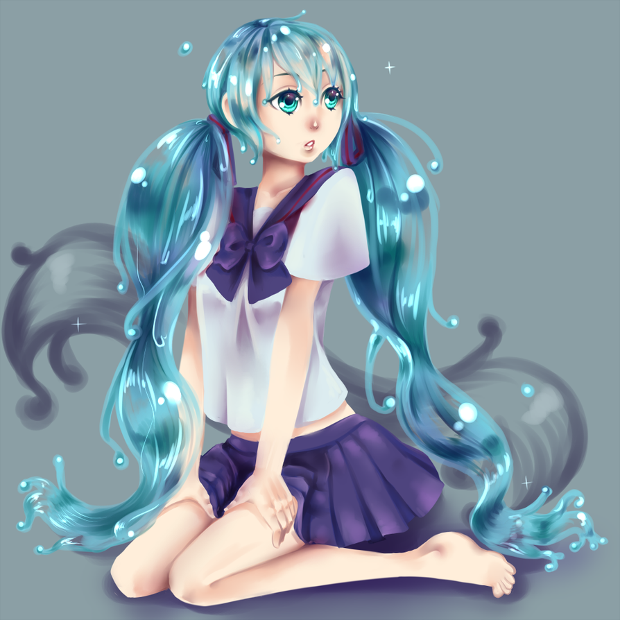 Bottle Miku by nuxi-chan