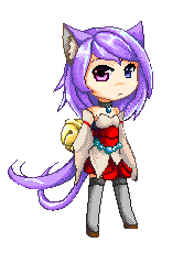Fox Miko: Pixel by Clouddreamea