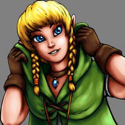 The Cutest Heroine of Legend by Unrelatedpants
