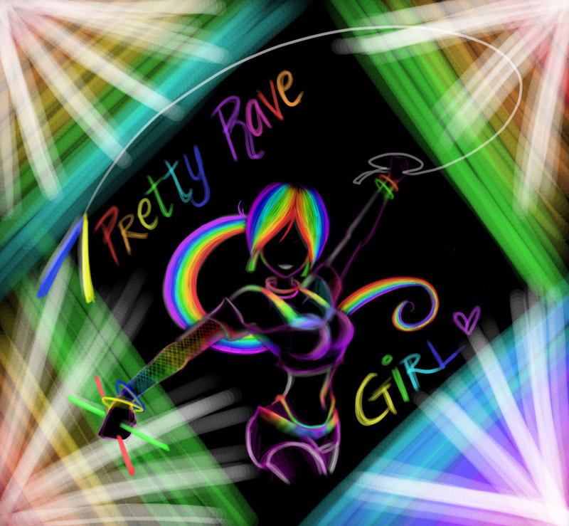 i know this pretty rave girl № 648147