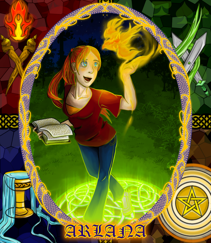 Arlana Ethne Caswallan by Glowstyle