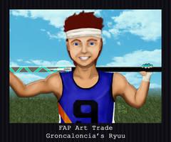 FAP Art Trade - Ryuu by PointyHat