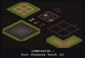 COMMISSION - Fort Cheyenne Patch (2) by PointyHat