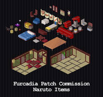 Furcadia Commission - Naruto Items