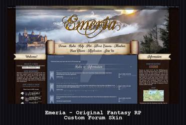 Custom Forum Skin - Emeria: Original Fantasy RP