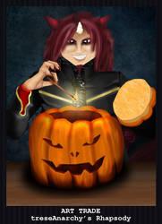 FAP - Halloween Art Trade - Rhapsody by PointyHat