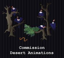 COMMISSION - Desert Animations